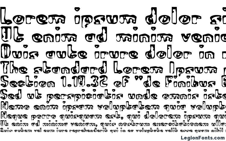 specimens Abandoned Bitplane font, sample Abandoned Bitplane font, an example of writing Abandoned Bitplane font, review Abandoned Bitplane font, preview Abandoned Bitplane font, Abandoned Bitplane font