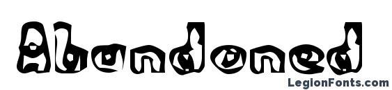 Abandoned Bitplane Font, African Fonts