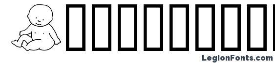 Шрифт Abartfonts babyboomone