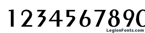 Abbieshire Font, Number Fonts