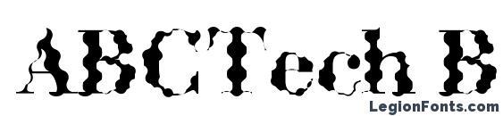 ABCTech Bodoni Wave Font