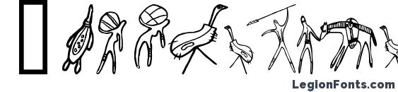 шрифт Aboriginebats one, бесплатный шрифт Aboriginebats one, предварительный просмотр шрифта Aboriginebats one