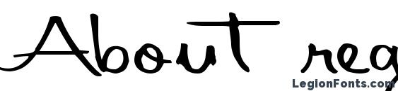 About regular ttnorm Font