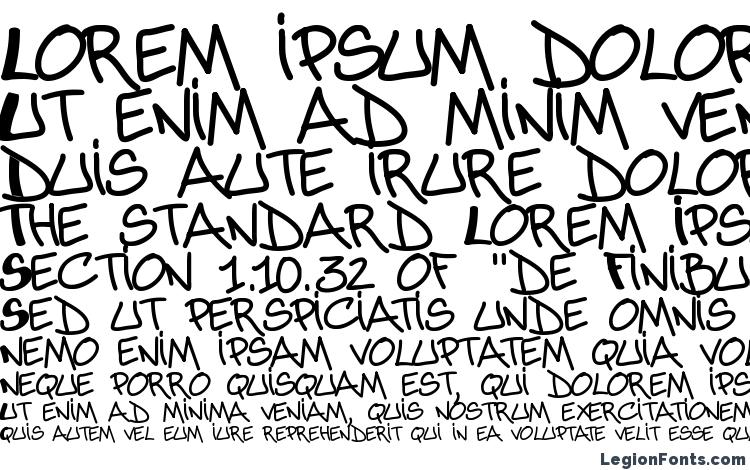 specimens Abuse font, sample Abuse font, an example of writing Abuse font, review Abuse font, preview Abuse font, Abuse font