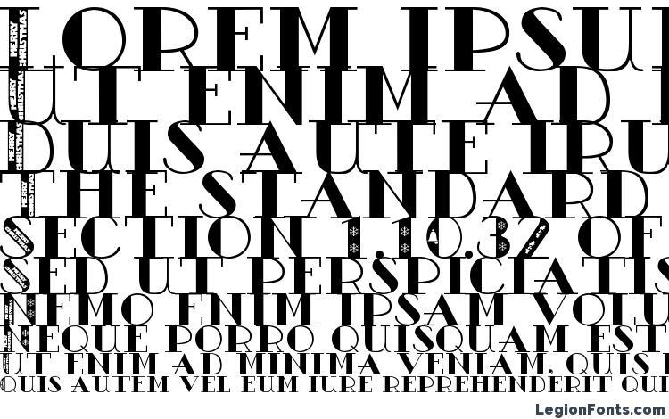 specimens Ac1 christmas font, sample Ac1 christmas font, an example of writing Ac1 christmas font, review Ac1 christmas font, preview Ac1 christmas font, Ac1 christmas font