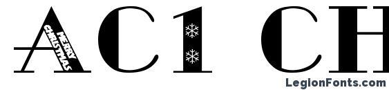 Шрифт Ac1 christmas