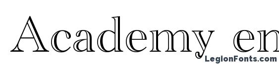 Academy engraved Font Download Free / LegionFonts