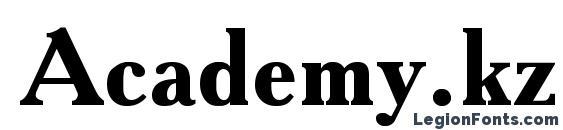 Academy.kz Bold Font