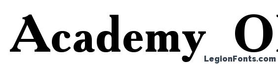 Academy Old Bold Font