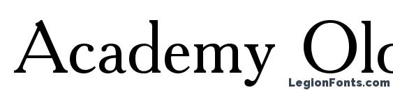 Academy Old Font