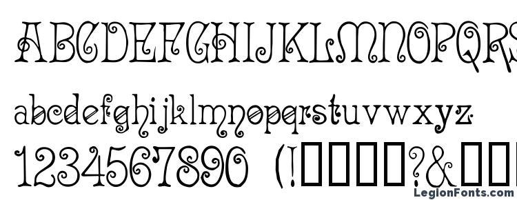 глифы шрифта Acadianc, символы шрифта Acadianc, символьная карта шрифта Acadianc, предварительный просмотр шрифта Acadianc, алфавит шрифта Acadianc, шрифт Acadianc
