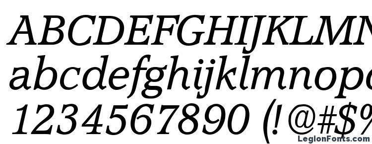глифы шрифта Accolade Italic, символы шрифта Accolade Italic, символьная карта шрифта Accolade Italic, предварительный просмотр шрифта Accolade Italic, алфавит шрифта Accolade Italic, шрифт Accolade Italic