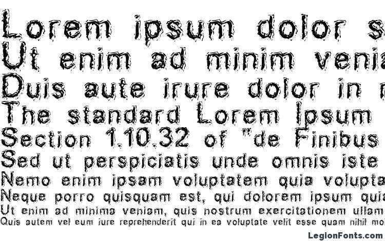 specimens AcidDreamer font, sample AcidDreamer font, an example of writing AcidDreamer font, review AcidDreamer font, preview AcidDreamer font, AcidDreamer font