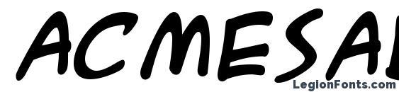 Acmesab Font