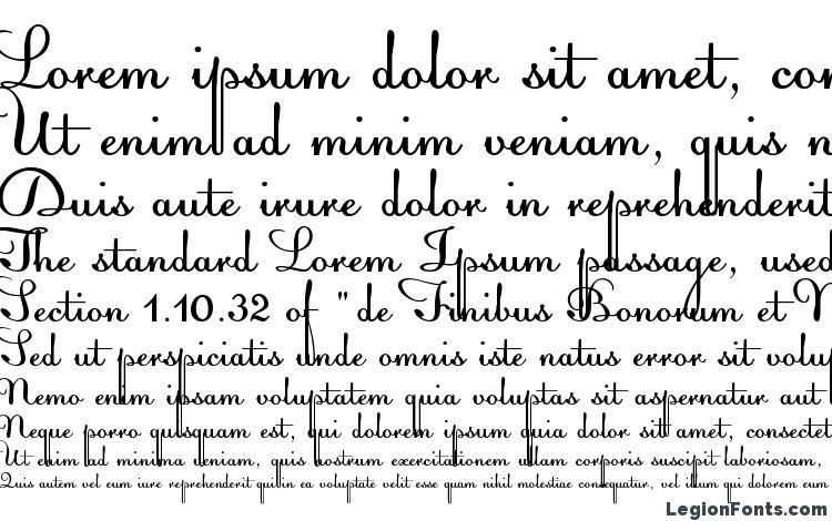 specimens Acquest Script font, sample Acquest Script font, an example of writing Acquest Script font, review Acquest Script font, preview Acquest Script font, Acquest Script font