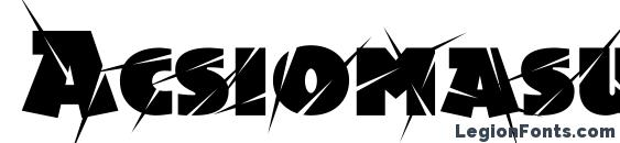 Шрифт Acsiomasupershockc, OTF шрифты