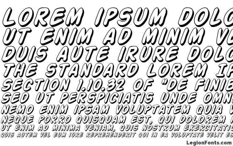 образцы шрифта Action Man Shaded Italic, образец шрифта Action Man Shaded Italic, пример написания шрифта Action Man Shaded Italic, просмотр шрифта Action Man Shaded Italic, предосмотр шрифта Action Man Shaded Italic, шрифт Action Man Shaded Italic