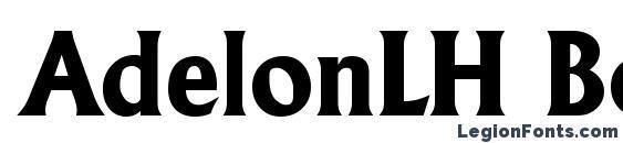 AdelonLH Bold Font