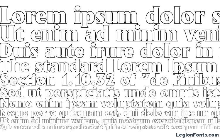 specimens AdelonOutline Heavy Regular font, sample AdelonOutline Heavy Regular font, an example of writing AdelonOutline Heavy Regular font, review AdelonOutline Heavy Regular font, preview AdelonOutline Heavy Regular font, AdelonOutline Heavy Regular font