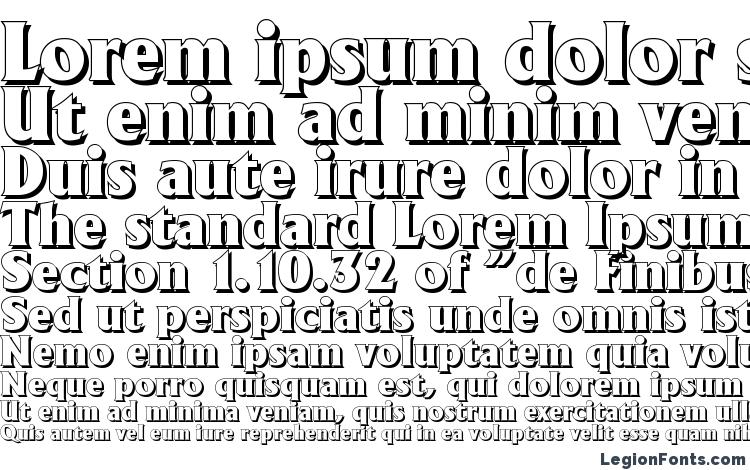 specimens AdelonShadow Heavy Regular font, sample AdelonShadow Heavy Regular font, an example of writing AdelonShadow Heavy Regular font, review AdelonShadow Heavy Regular font, preview AdelonShadow Heavy Regular font, AdelonShadow Heavy Regular font