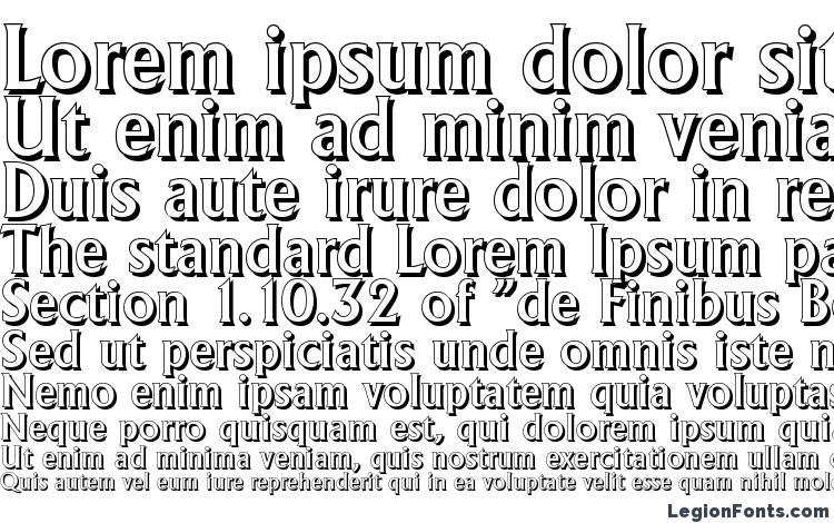 specimens AdelonShadow Medium Regular font, sample AdelonShadow Medium Regular font, an example of writing AdelonShadow Medium Regular font, review AdelonShadow Medium Regular font, preview AdelonShadow Medium Regular font, AdelonShadow Medium Regular font
