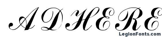 ADHEREB Regular Font