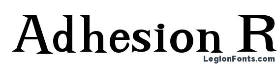 Шрифт Adhesion Regular DB