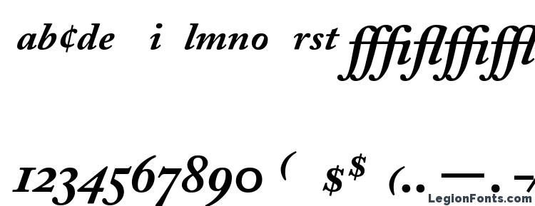 Caslon Font