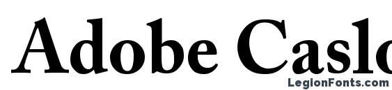 Adobe Caslon™ Pro Bold -