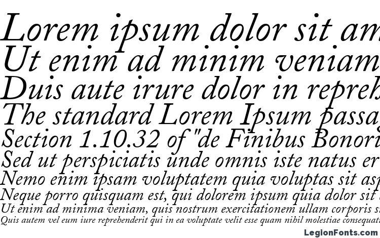 specimens Adobe Caslon Italic font, sample Adobe Caslon Italic font, an example of writing Adobe Caslon Italic font, review Adobe Caslon Italic font, preview Adobe Caslon Italic font, Adobe Caslon Italic font