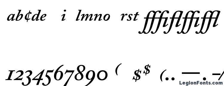 глифы шрифта Adobe Caslon Semibold Italic Expert, символы шрифта Adobe Caslon Semibold Italic Expert, символьная карта шрифта Adobe Caslon Semibold Italic Expert, предварительный просмотр шрифта Adobe Caslon Semibold Italic Expert, алфавит шрифта Adobe Caslon Semibold Italic Expert, шрифт Adobe Caslon Semibold Italic Expert
