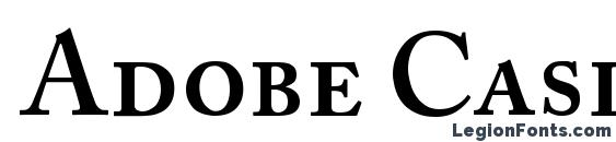 Adobe Caslon SemiboldSC Font