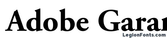 Шрифт Adobe Garamond LT Bold