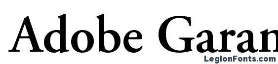 Adobe Garamond LT Semibold Font Download Free / LegionFonts