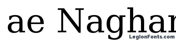 ae Nagham Font