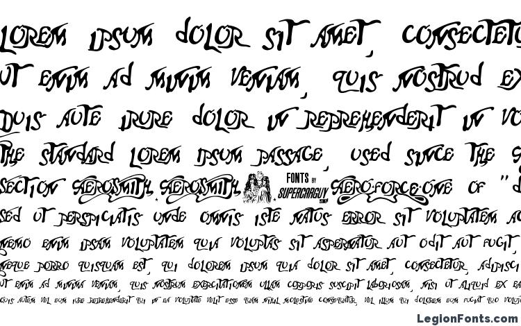 specimens Aero Font One font, sample Aero Font One font, an example of writing Aero Font One font, review Aero Font One font, preview Aero Font One font, Aero Font One font