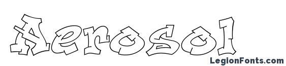 Aerosol Font