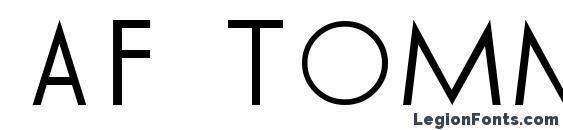 AF TOMMY HILFIGER Font