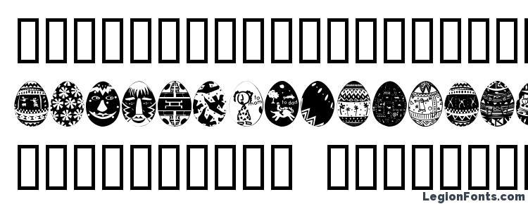 glyphs AfricanEggs font, сharacters AfricanEggs font, symbols AfricanEggs font, character map AfricanEggs font, preview AfricanEggs font, abc AfricanEggs font, AfricanEggs font