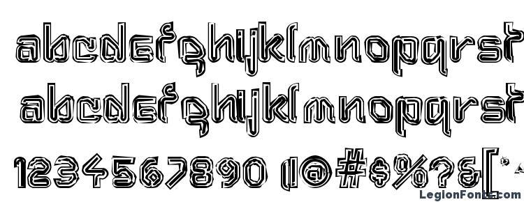 глифы шрифта Aftermat(1), символы шрифта Aftermat(1), символьная карта шрифта Aftermat(1), предварительный просмотр шрифта Aftermat(1), алфавит шрифта Aftermat(1), шрифт Aftermat(1)
