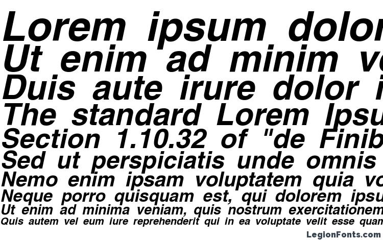 AG Helvetica Bold Italic Font Download Free / LegionFonts