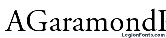AGaramondPro Regular Font