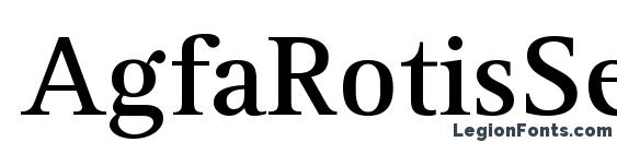 AgfaRotisSerif Bold Font