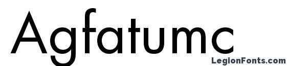 Agfatumc Font