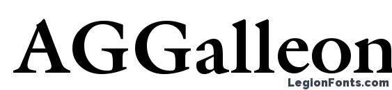 AGGalleon Bold Font