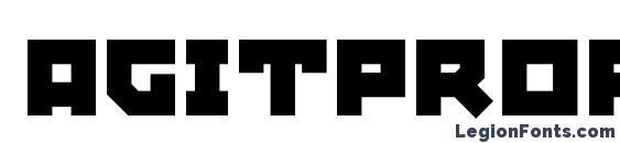 AgitProp Medium Font