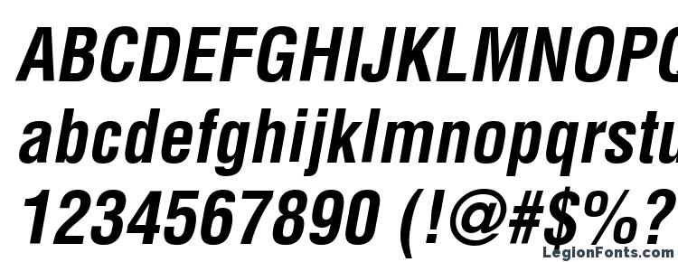 глифы шрифта AGLettericaCondensed BoldOblique, символы шрифта AGLettericaCondensed BoldOblique, символьная карта шрифта AGLettericaCondensed BoldOblique, предварительный просмотр шрифта AGLettericaCondensed BoldOblique, алфавит шрифта AGLettericaCondensed BoldOblique, шрифт AGLettericaCondensed BoldOblique