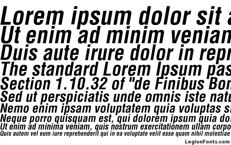 specimens AGLettericaCondensed BoldOblique font, sample AGLettericaCondensed BoldOblique font, an example of writing AGLettericaCondensed BoldOblique font, review AGLettericaCondensed BoldOblique font, preview AGLettericaCondensed BoldOblique font, AGLettericaCondensed BoldOblique font