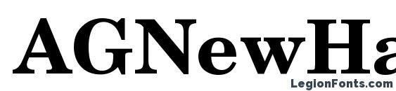 AGNewHandbook Bold Font