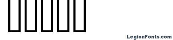 AIGDT Font